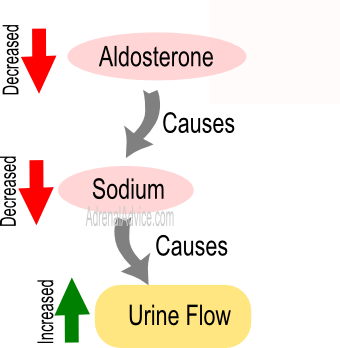 Low Aldosterone is a common reason given for the connection of adrenal ...